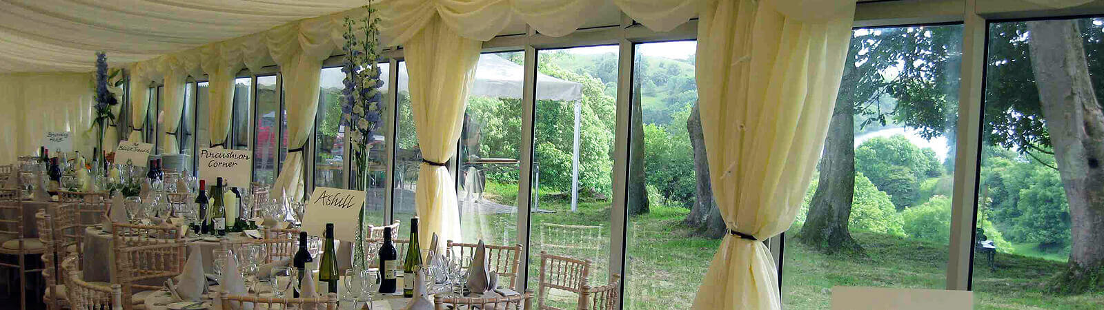 Marquee Hire Limerick for weddings, celebrations & corporate events